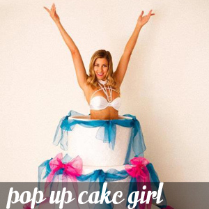 Pop Up Cake Girl
