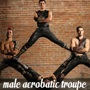 Male Acrobatic Troupe